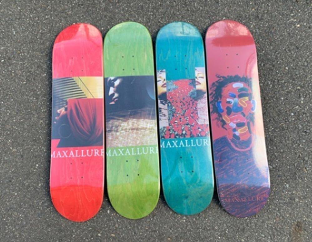 maxallureskateboardsのデッキ