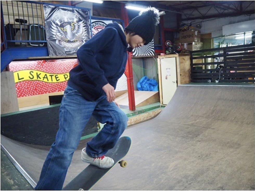 大阪でスケボーのやる場所に困ったら ekl スケートパークへ集合!