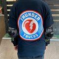 THUNDER(サンダー)トラックのアパレルTシャツ入荷しました!